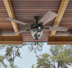 outdoor ceiling fan design