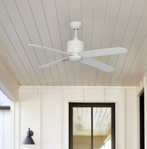 best outdoor ceiling fan size